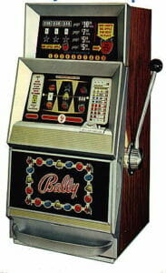Bally, Stary automat do gier